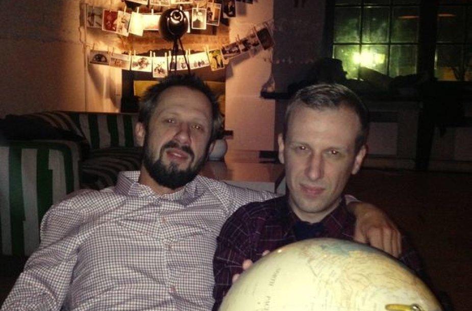 Linas Adomaitis ir Marijus Adomaitis Basanov