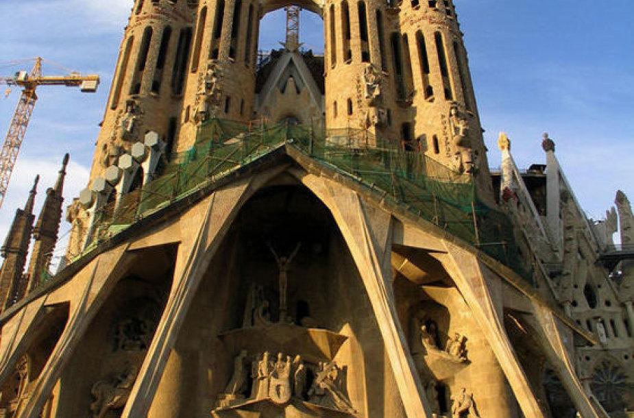 Храм Святого Семейства (Basilica de la Sagrada Familia)