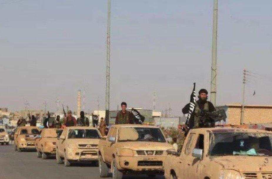 Islamo valstybės kovotojų karinis paradas