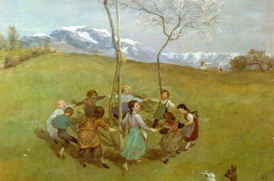 """Hanso Thomoso """"Pavasaris kalnuose"""""""