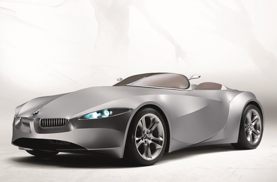 BMW GINA koncepcija, 2008 m. (Gamintojo nuotrauka)