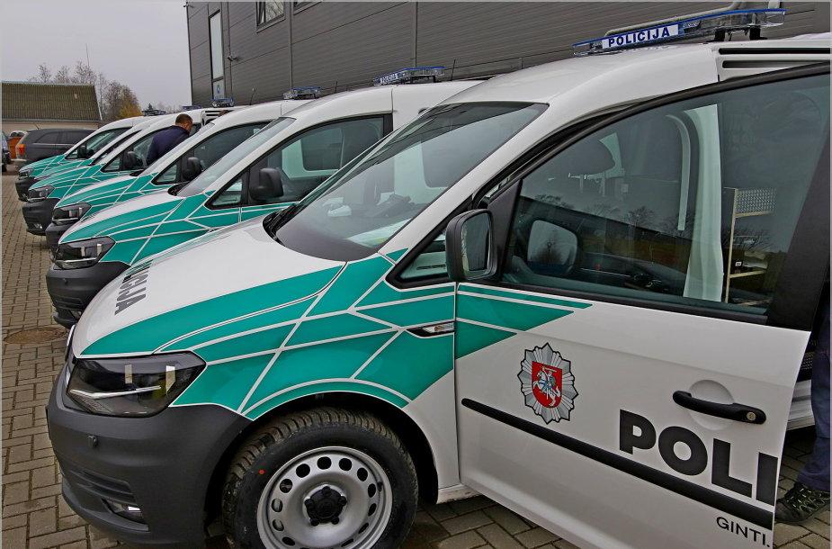 Policijos automobilių parkui – daugiau nei 100 naujų automobilių
