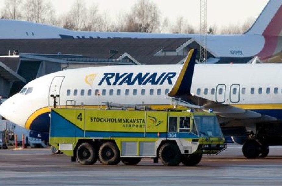 """""""Ryanair"""" lėktuvas"""