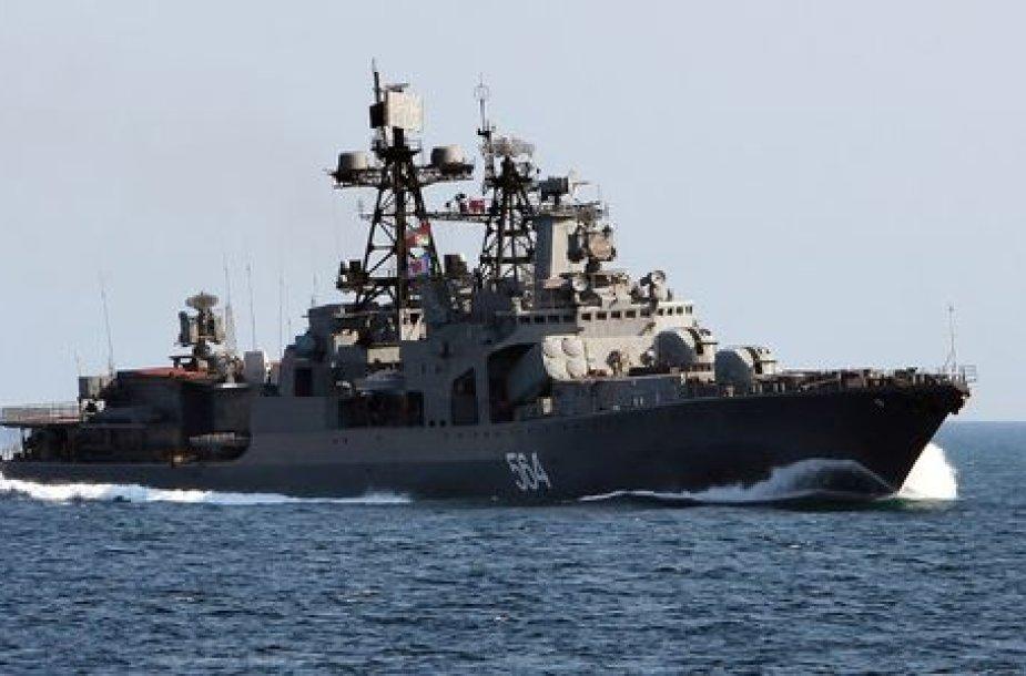 Rusija savo Baltijos laivyne gali dislokuoti branduolinius ginklus.
