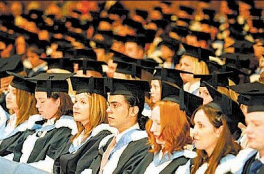 Britų studentai
