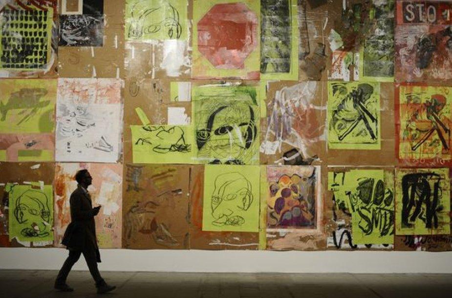 Fragmentas iš bienalės ekspozicijos