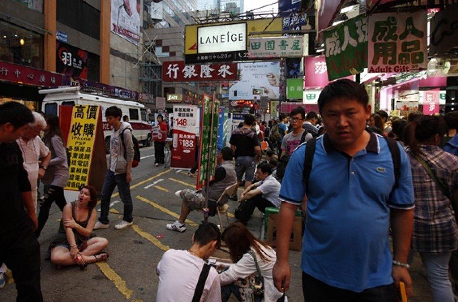 Mongkoko miesto gatvėje
