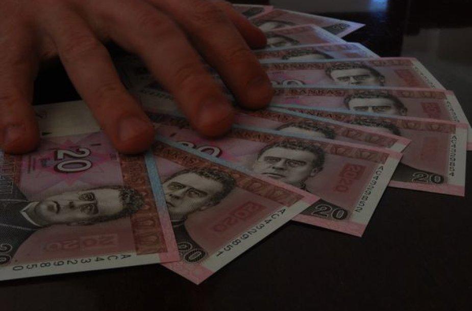 Litai, lengvi pinigai