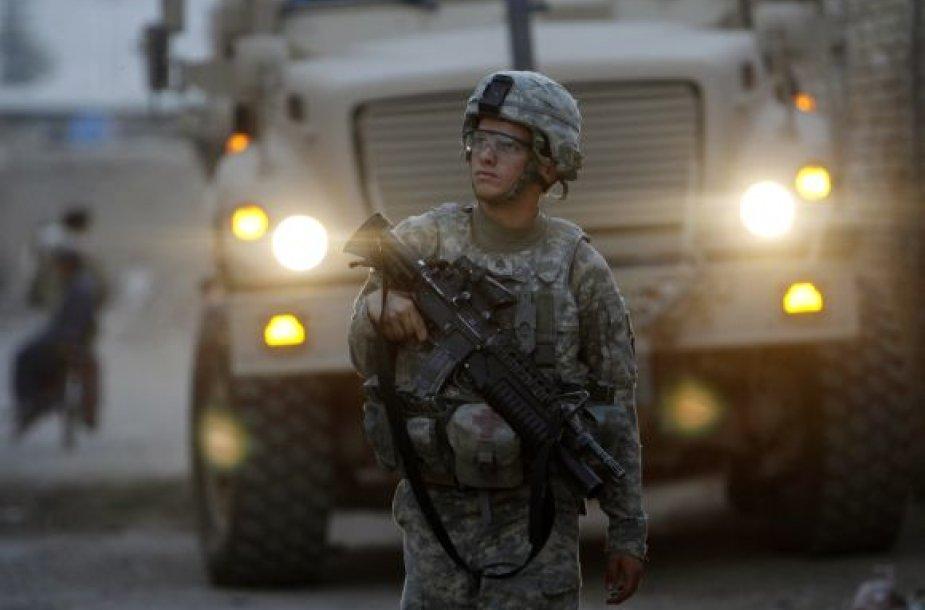 JAV karys Afganistane