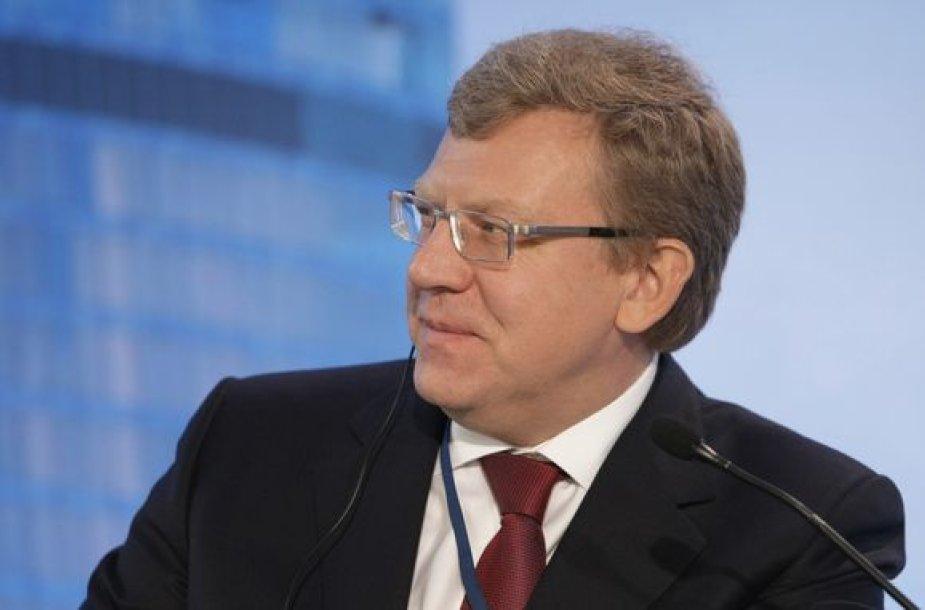 Rusijos finansų ministras Aleksejus Kudrinas