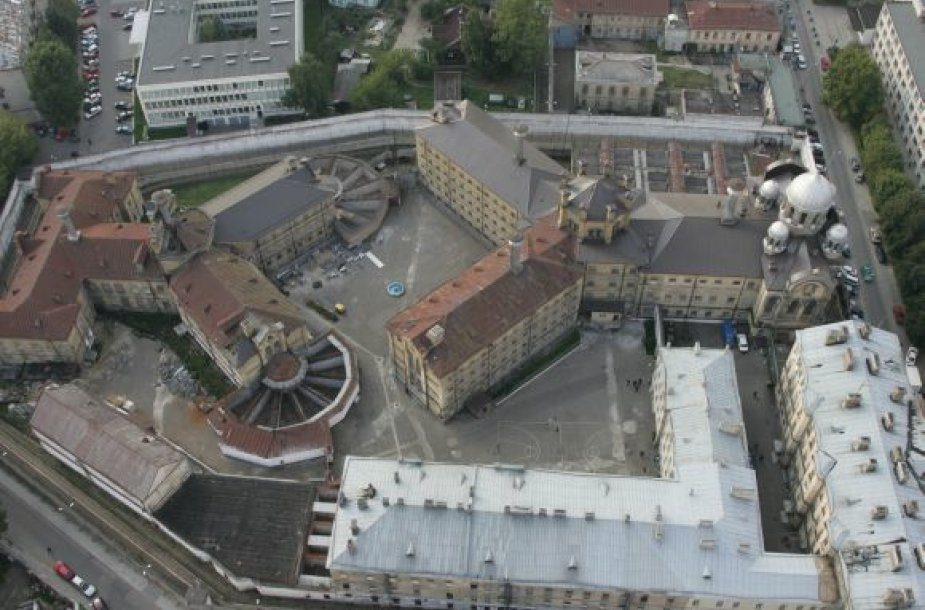Lukiškių tardymo izoliatoriaus-kalėjimo ir Laisvės atėmimo vietų ligoninės kompleksas Vilniaus centre
