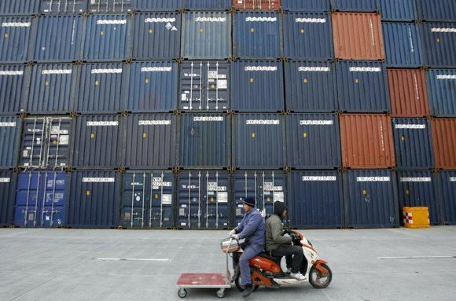 . Tik apie 30 proc. ekonomikos Kinijoje priklauso nuo eksporto.