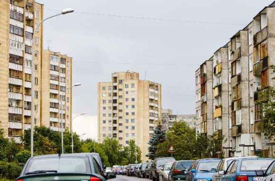Gyvenamieji namai Žirmūnų rajone
