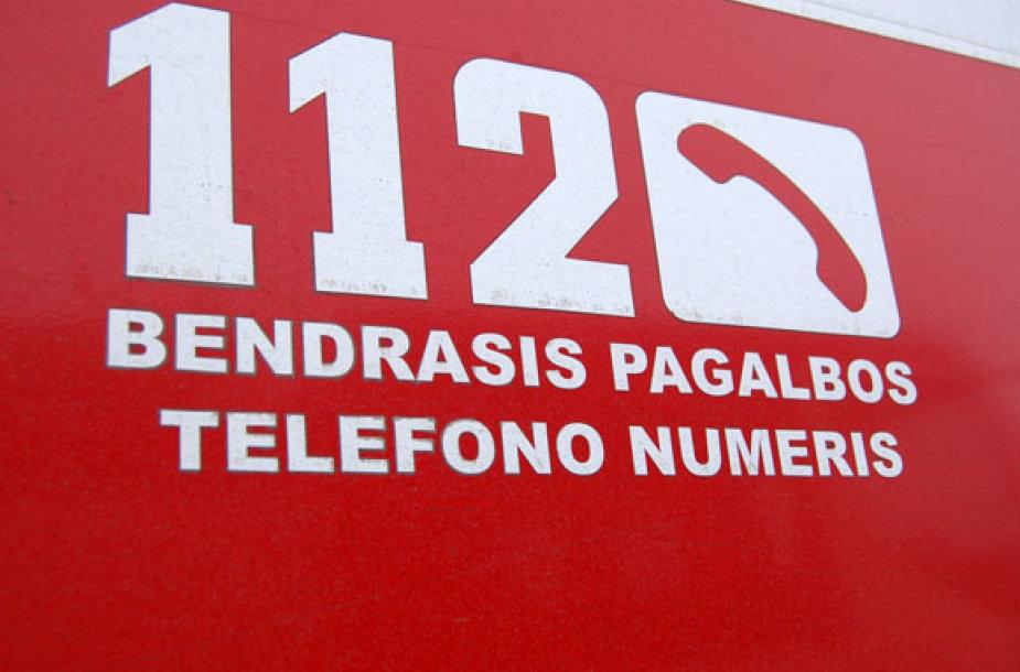 Pagalbos telefonas 112
