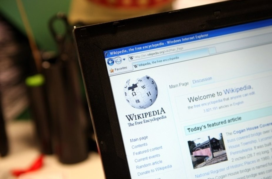 "Interneto enciklopedija ""Wikipedia"""