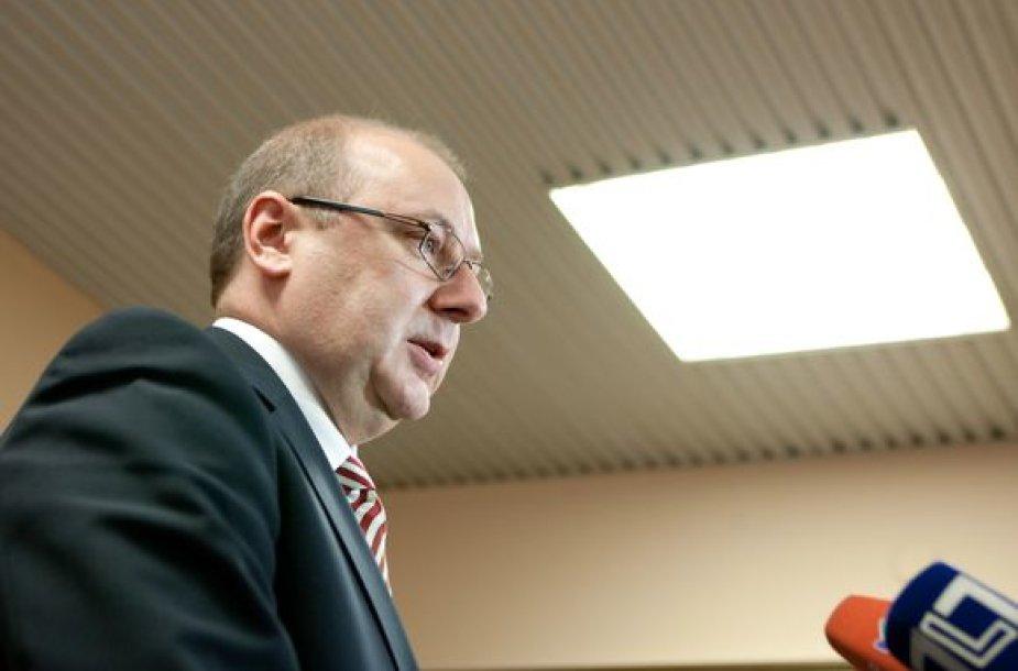 """Lietuvos vežėjų asociacijos """"Linava"""" prezidentas Algimantas Kondrusevičius"""