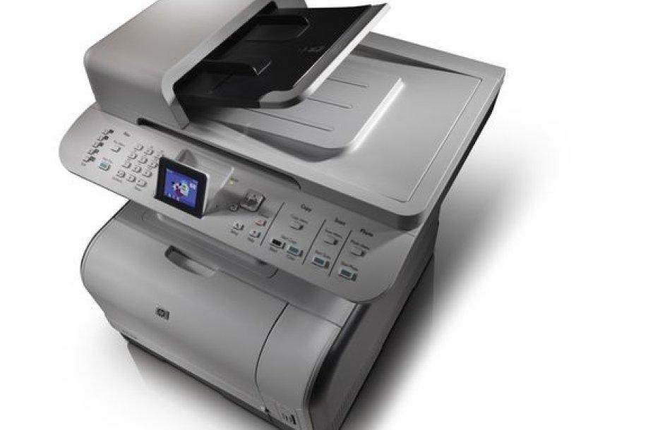 """HP daugiafunkcinis spalvotas lazerinis spausdintuvas """"HP Color LaserJet CM 3530""""."""