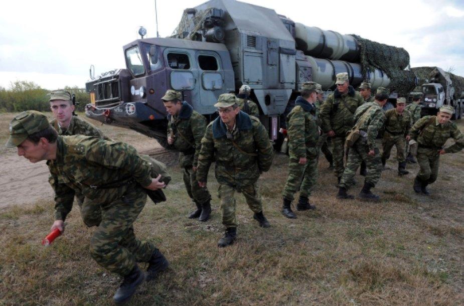 Rusiškas zenitinių raketų kompleksas S-300