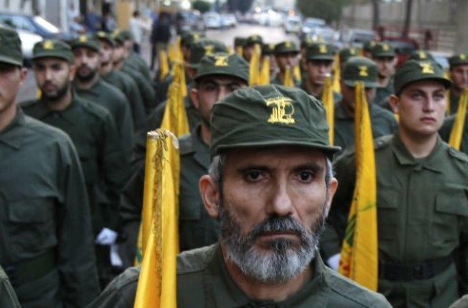 """""""Hezbollah"""" kovotojai"""