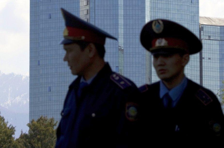 Kazachstano policininkai