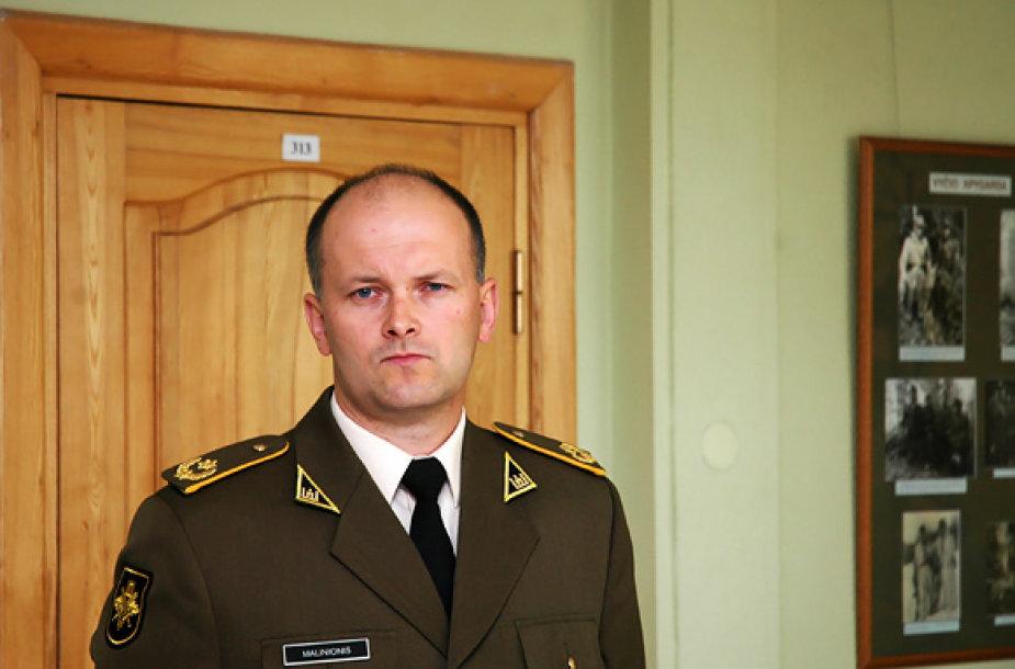 KASP štabo viršininkas Vaidotas Malinionis