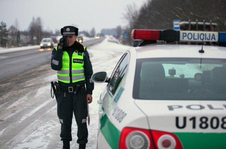 Policijos pareigūnė