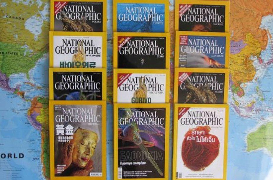 """Spalį pasirodys pirmasis """"National Geographic Lietuva"""" žurnalo numeris."""