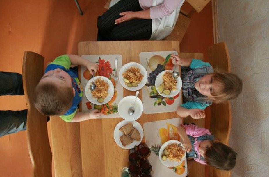 Maistas darželyje
