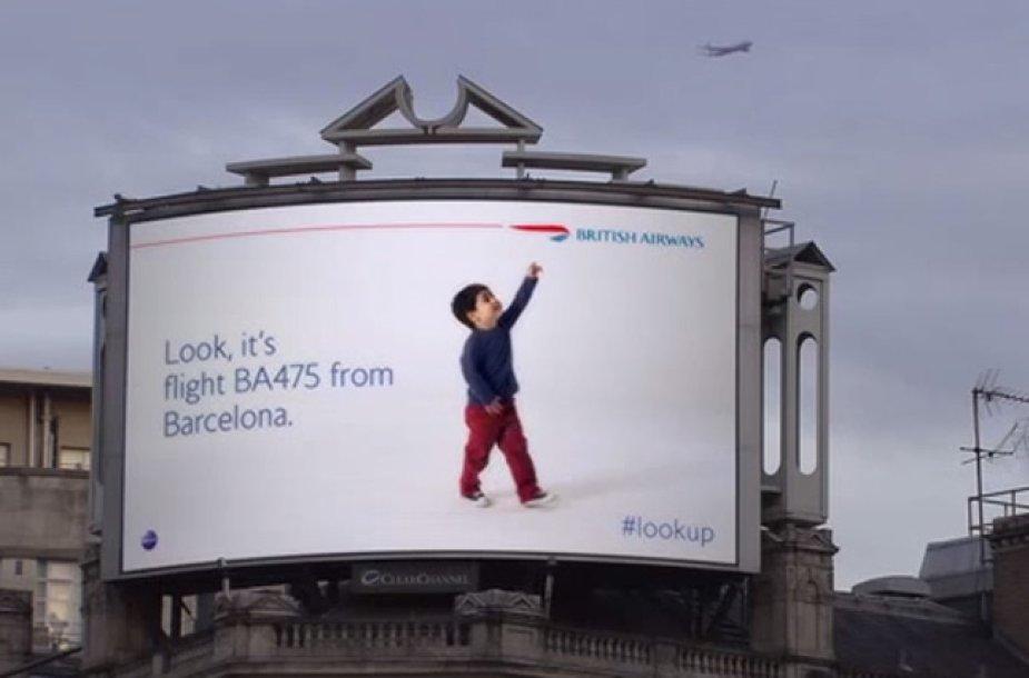 """""""British Airways"""" reklama"""