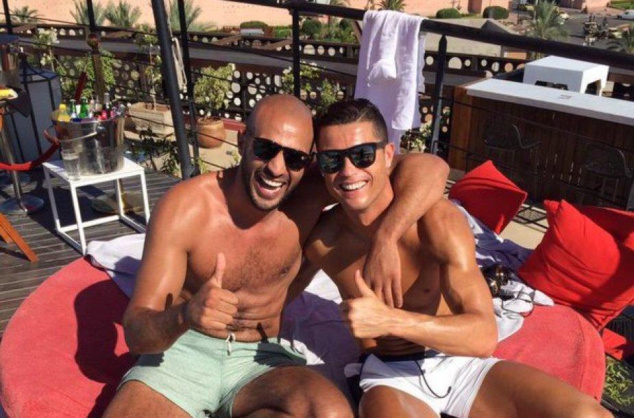Badras Hari ir Cristiano Ronaldo