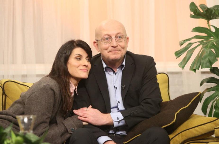 Arūnas Valinskas ir Renata Mikailionytė