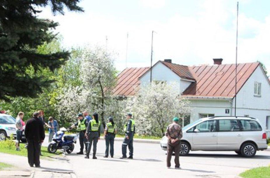 Motorolerio avarija Jurbarke