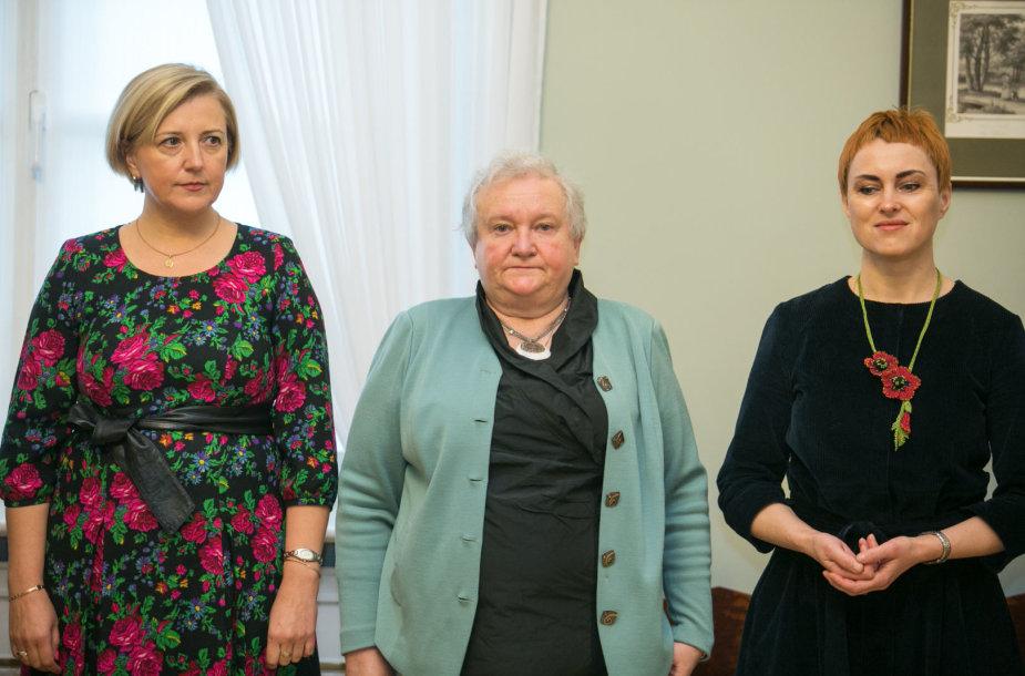 Rūta Krasauskienė, Vilija Targamadzė, Jūratė Litvinaitė