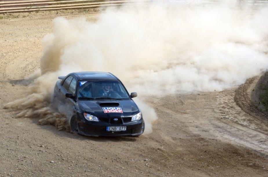 """Subaru"" klubo šelsmas ""Versmės"" autokroso trasoje"