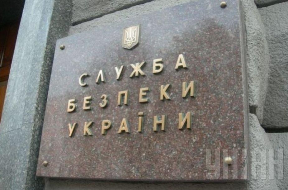 Ukrainos saugumo tarnyba Kijeve suėmė Rusijos diversantą