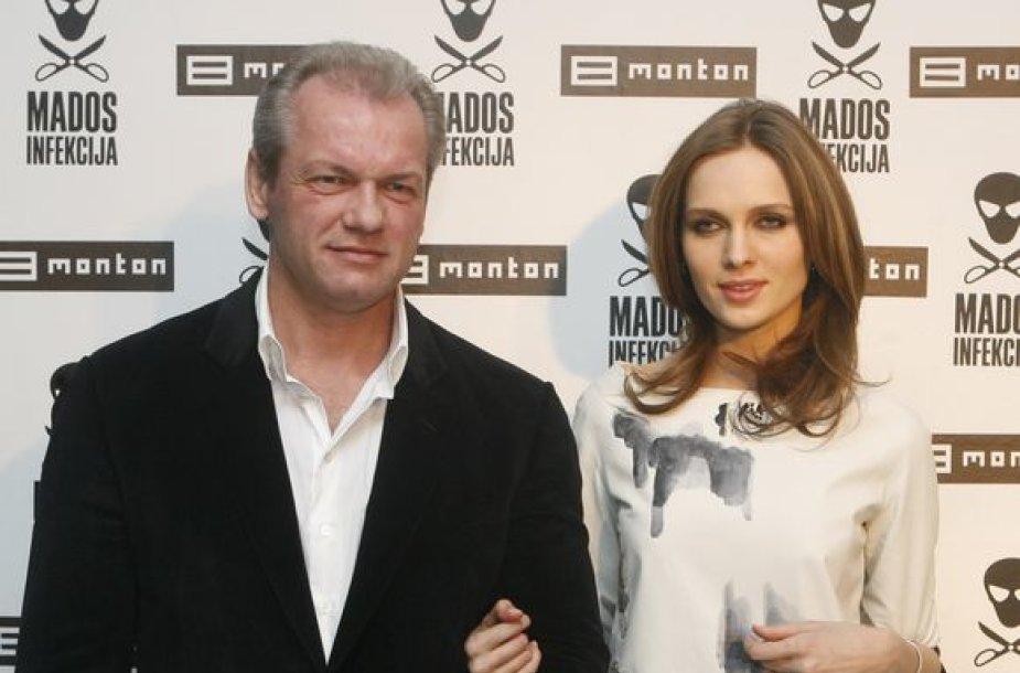 Laimutis Pinkevičius ir Asta Valentaitė