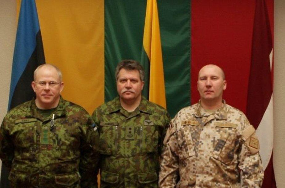 Baltijos saugumo pajėgų vadai