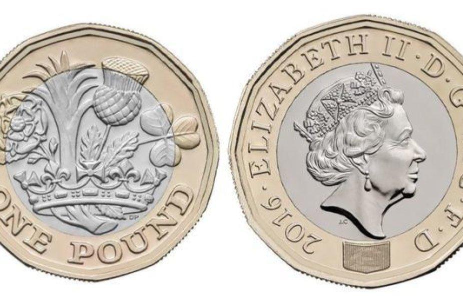 Nauja svaro moneta