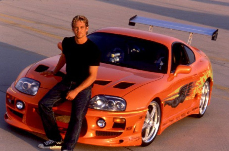 Paulas Walkeris su Toyota Supra