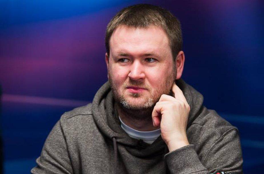 Andrius Bielskis. PokerStars.net nuotr.