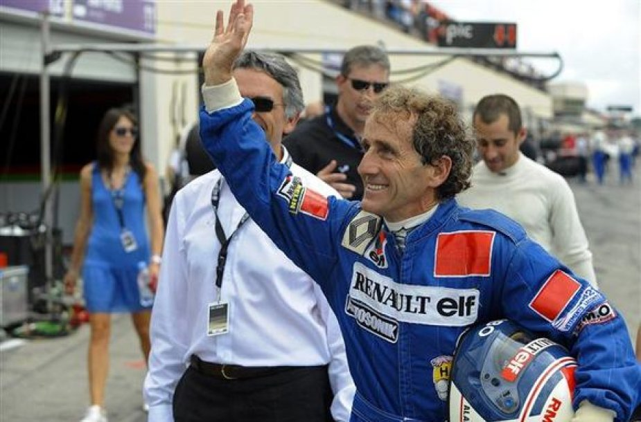 Alain Prost naujasis Renault prekinio zenklo ambasadorius