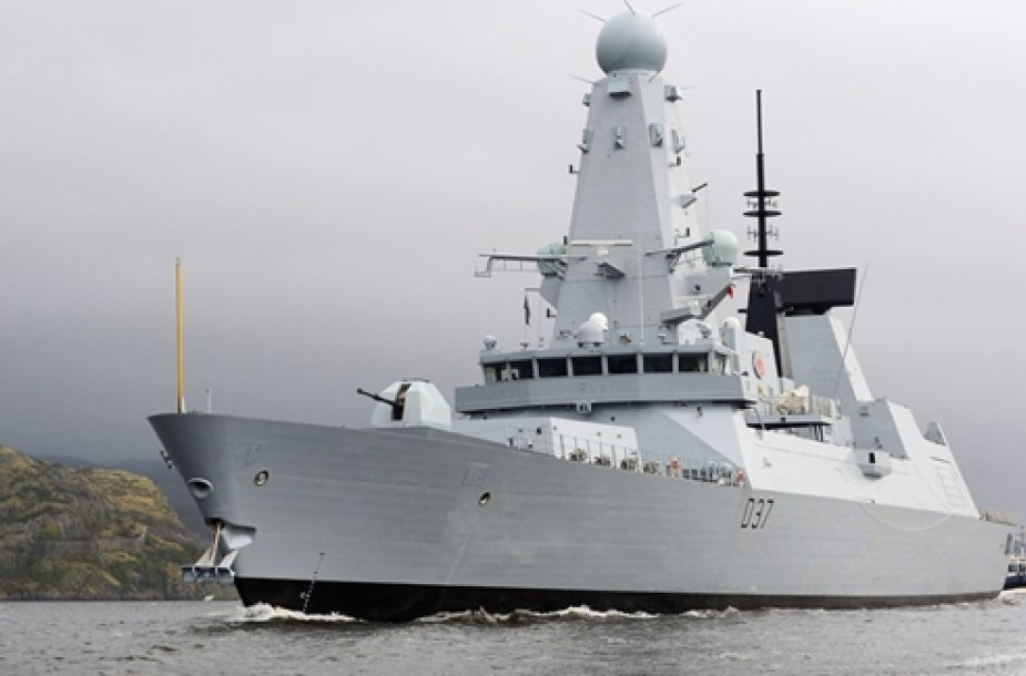 "Eskadrinis minininkas HMS ""Duncan"" (D37)"