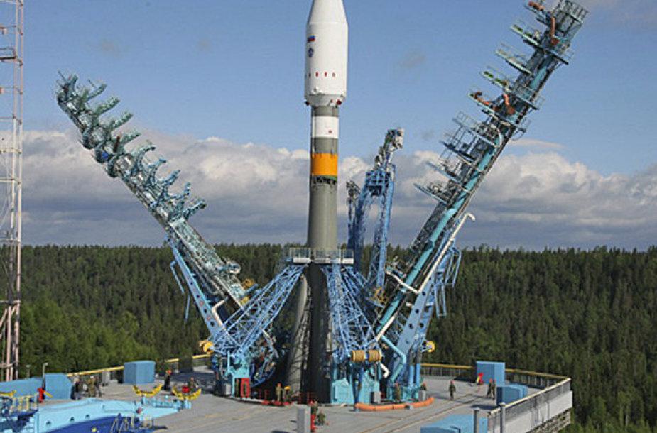 """Vieningosios kosminės sistemos palydovo """"Tundra"""" paleidimas atidėtas iki šių metų vasaros."""