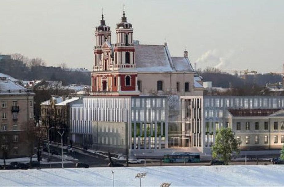 Projektas prie Šv. apaštalų Pilypo ir Jokūbo bažnyčios