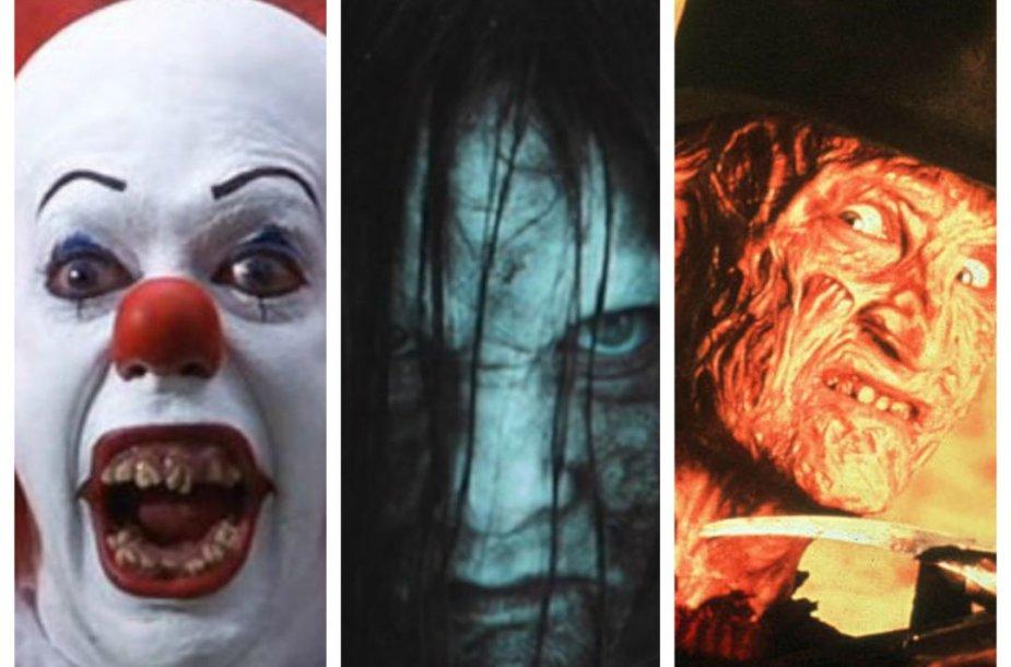 Siaubo filmų personažai