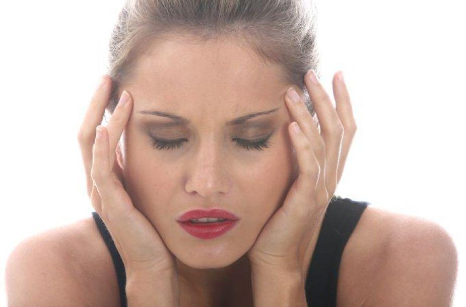 Kaip išvengti galvos skausmo