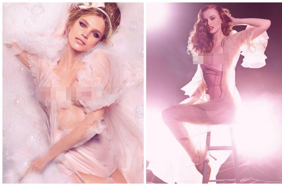 "Natalia Vodianova ir Karen Elson ""Pirelli"" kalendoriuje"