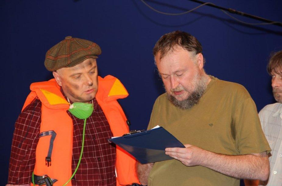 Audrius Rakauskas ir Vaidas Lekavičius