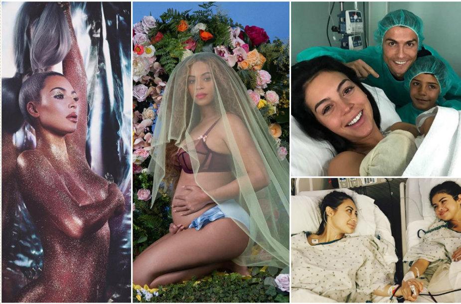 """Instagram"" karaliai: Kim Kardashian, Selena Gomez, Beyonce ir Cristiano Ronaldo"