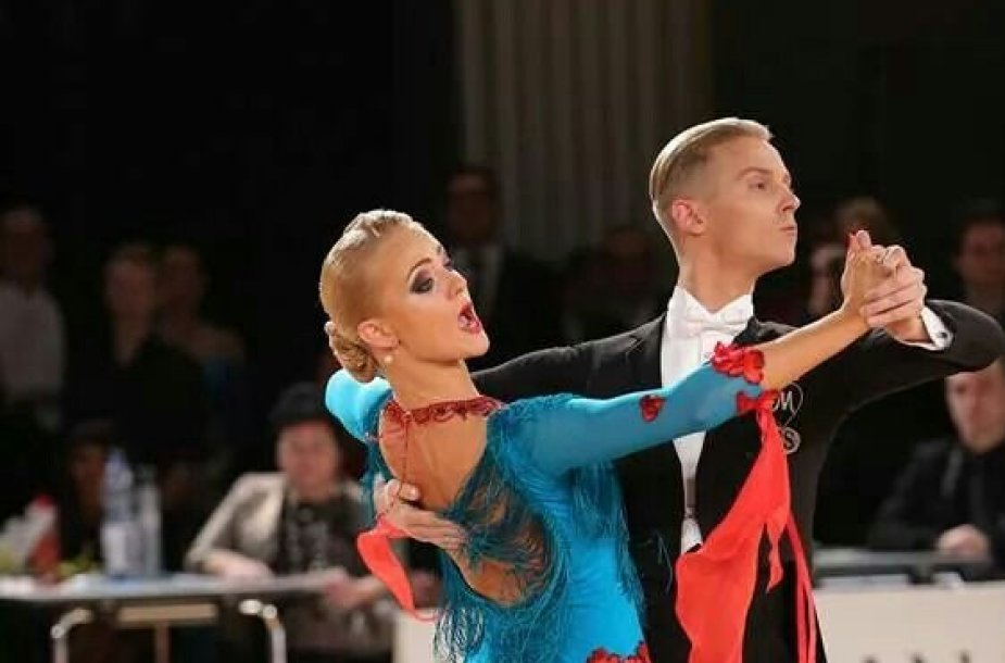 Evaldas Sodeika ir Ieva Žukauskaitė